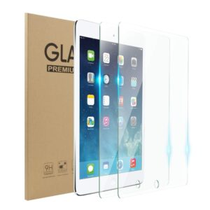 ipad-5 6 pro 9.7' tempered glass with cleaning wipe combo set