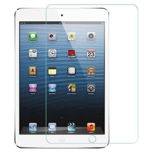 ipad mini 1 2 3 tempered glass with cleaning wipe combo set