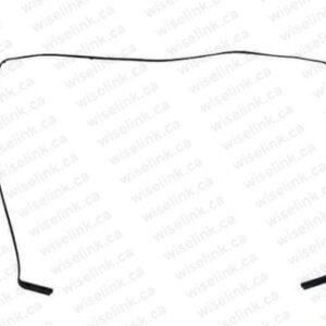 A1706 A1707 A1708 bezel rubber frame
