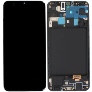 GALAXY A20 LCD WITH FRAME